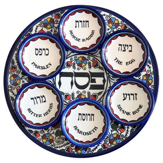 Passover-Seder-Plate-Armenian-Ceramic-AG